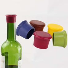 Silicone Wine Stopper (3 Pcs)