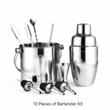 10 Piece Boxed Bar Set