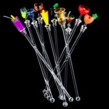Cute Cocktail Stirrer Set (10 Pcs)